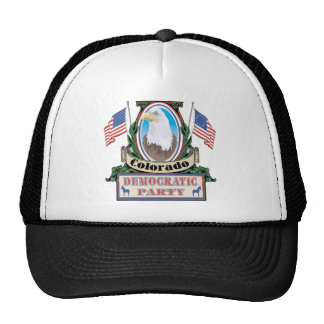 Gorra del fiesta de Colorado Demócrata