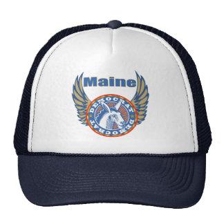 Gorra del fiesta de Maine Demócrata