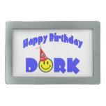 Gorra del fiesta del Dork del feliz cumpleaños Hebilla Cinturon