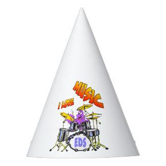 Gorra del fiesta del pulpo de la música gorro de fiesta