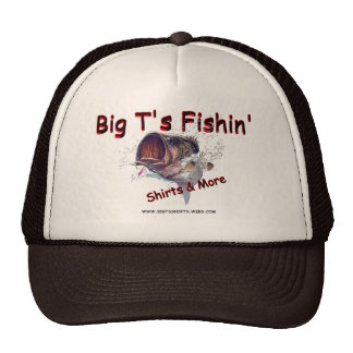 Gorra del fishin del t grande