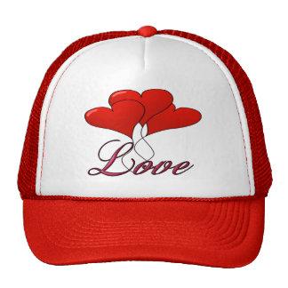 Gorra del flotador del globo del amor