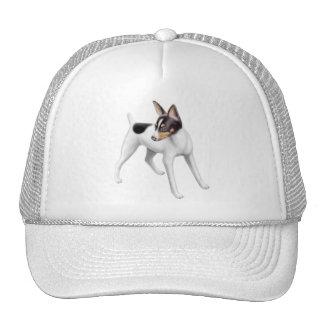 Gorra del fox terrier del juguete