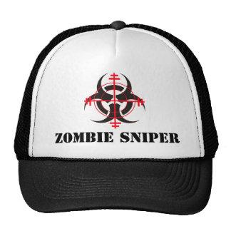 Gorra del francotirador del zombi