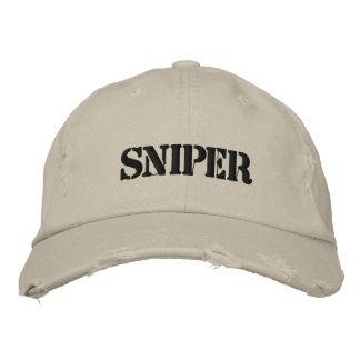 Gorra del francotirador gorro bordado