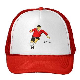 Gorra del fútbol