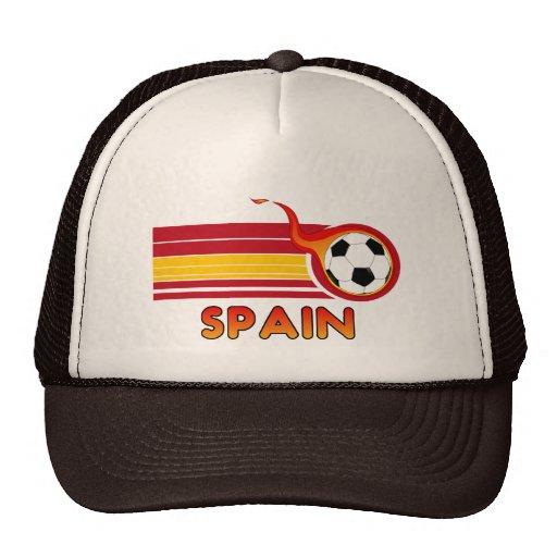 Gorra del fútbol de España