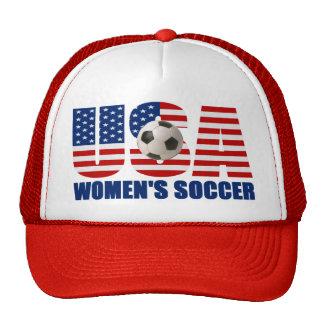 Gorra del fútbol de las mujeres de los E.E.U.U.
