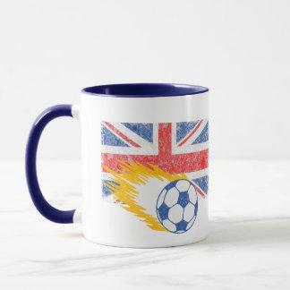 Gorra del fútbol de Reino Unido Taza