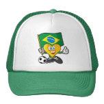 Gorra del fútbol del Brasil