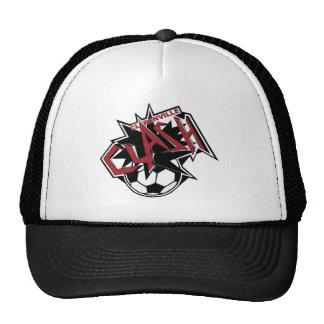 Gorra del fútbol del choque de Clarenville
