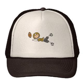Gorra del futbolista del oro
