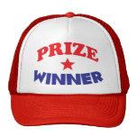 gorra del ganador del premio