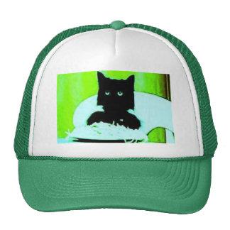gorra del gato de los espaguetis