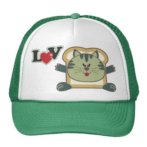 Gorra del gato que empana