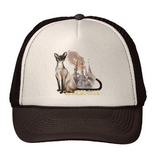 Gorra del gato siamés