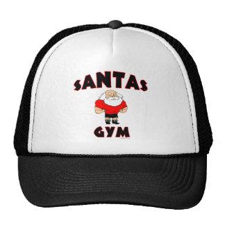 Gorra del gimnasio de Santas