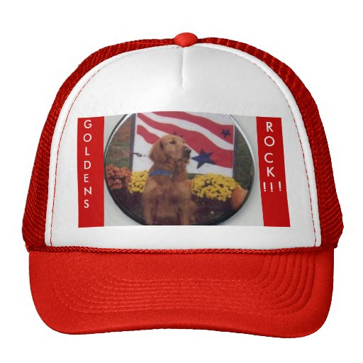 Gorra del golden retriever