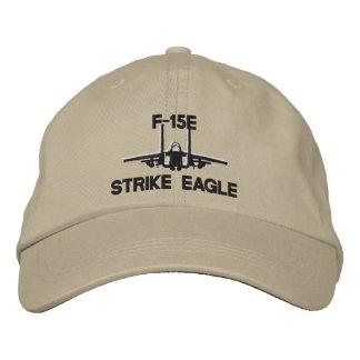 Gorra del golf de F-15E Gorras De Béisbol Bordadas