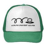 Gorra del golf de la diversión para el golfista de