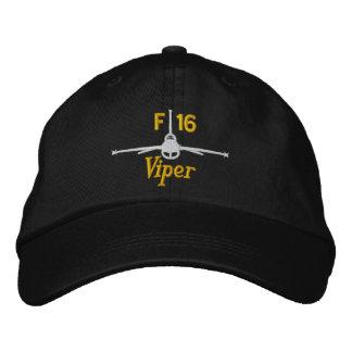 Gorra del golf de la víbora gorra bordada