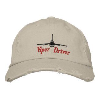 Gorra del golf de la víbora gorra de beisbol