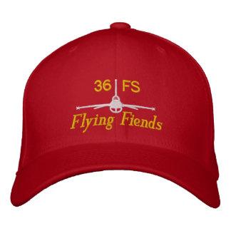 Gorra del golf del demonio del vuelo gorra de béisbol