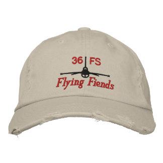 Gorra del golf del demonio del vuelo gorras de beisbol bordadas