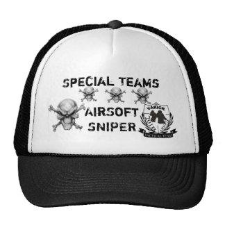 gorra del GORRA AIRSOFT del francotirador