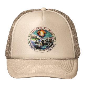 Gorra del gran sello de Thomas Jefferson de la reb