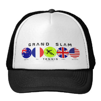 Gorra del Grand Slam del tenis