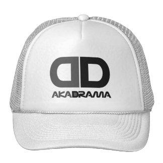 Gorra del gris de la DD del drama del entretenimie