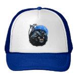 Gorra del gruñido del lobo