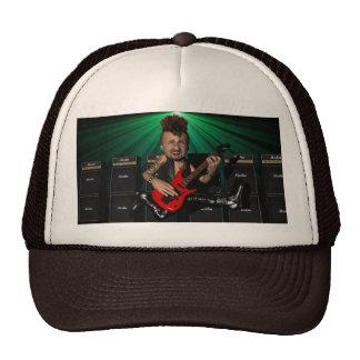 Gorra del guitarrista en vuelo