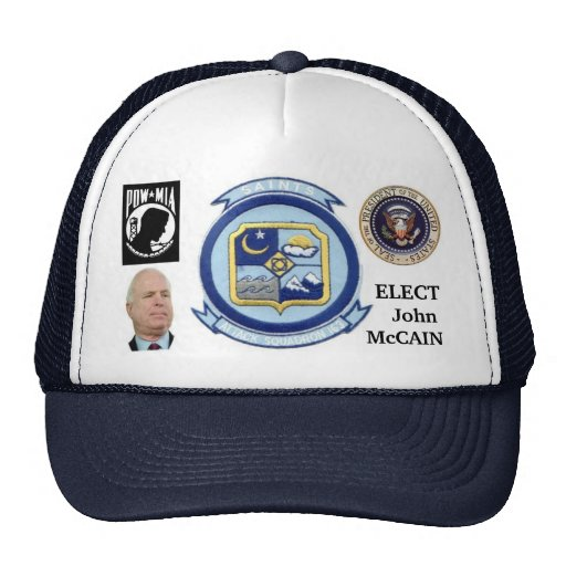 Gorra del héroe de McCain