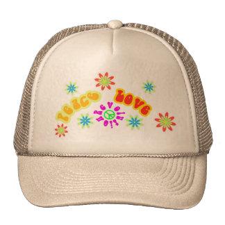 Gorra del hippy de los años 60 de la sensación