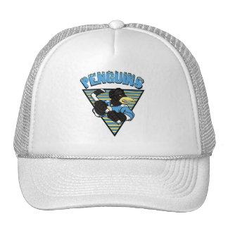 Gorra del hockey de los pingüinos