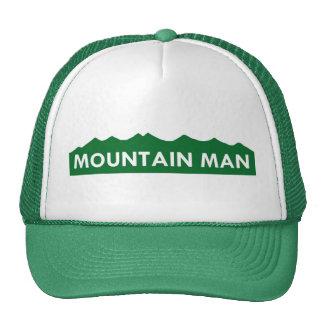 Gorra del hombre de la montaña de Colorado