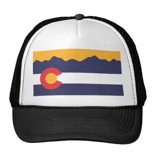 Gorra del horizonte de la bandera de Colorado