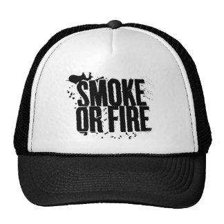 gorra del humo o del fuego