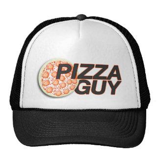 Gorra del individuo de la pizza