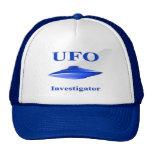 Gorra del investigador del UFO - azul