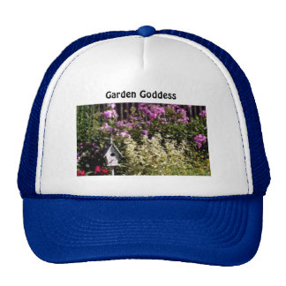 Gorra del jardín de flores de la diosa del jardín