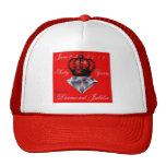Gorra del jubileo de diamante del Queens