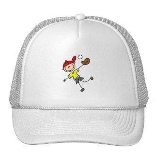 Gorra del jugador de béisbol del palillo
