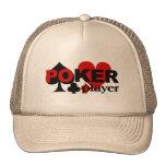 Gorra del jugador de póker