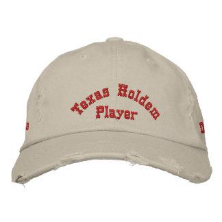Gorra del jugador de póker de Utimate Gorras Bordadas