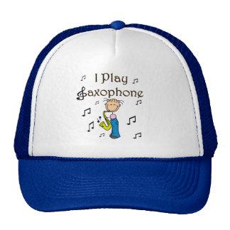 Gorra del jugador de saxofón