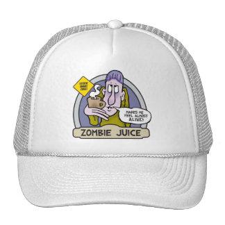 Gorra del jugo del zombi
