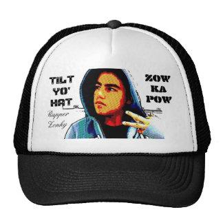 gorra del kapow del zow gorra inclinable del yo